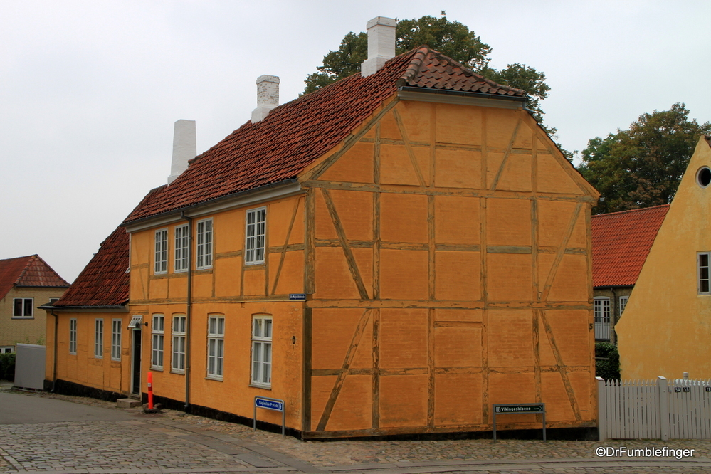 Old Danish home in Roskilde