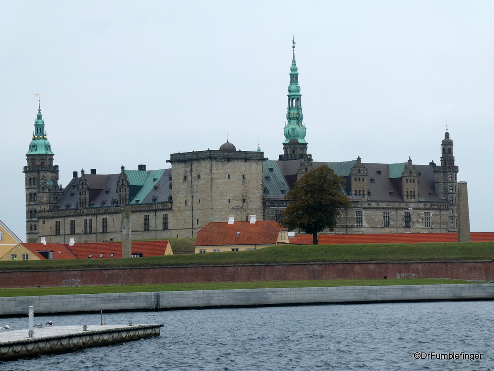 "Kronberg Castle in Helsingor, the ""home"" of Hamlet"