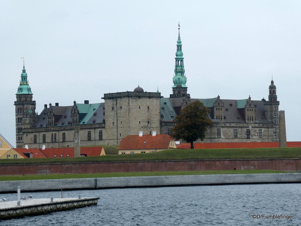"""Kronberg Castle in Helsingor, the """"home"""" of Hamlet"""