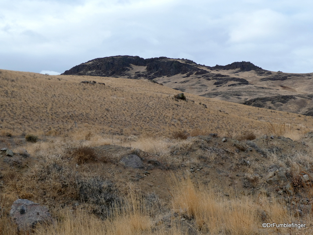 Desert of eastern Oregon, late fall