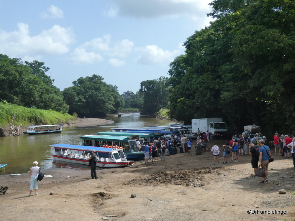 Preparing to depart for Tortuguero National Park, Costa Rica