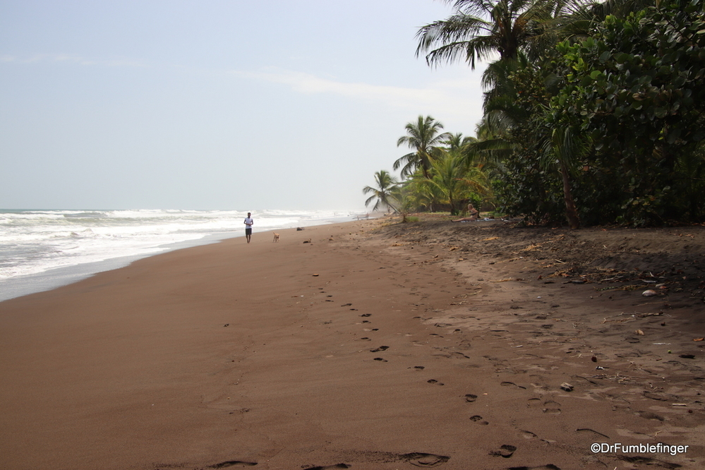 Visiting the Caribbean coast, Costa Rica