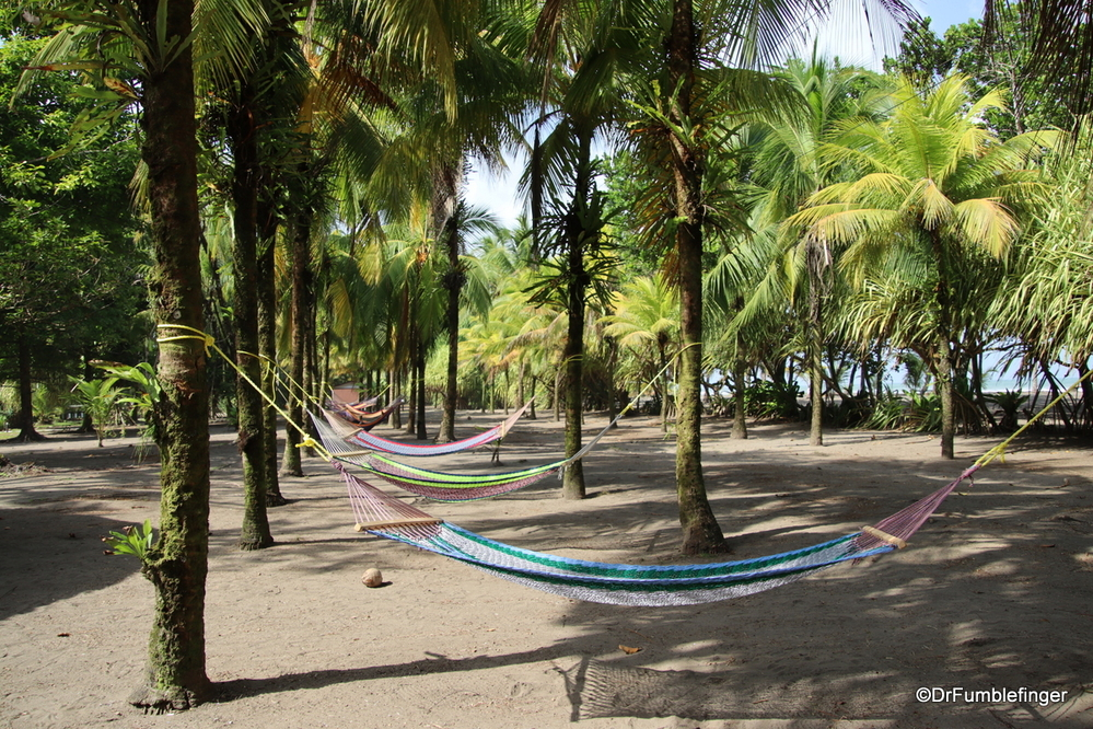 Lots of space to relax at the Turtle Bay Resort, Costa Rica