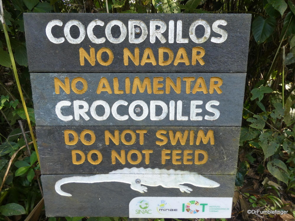 Some good advice when in Costa Rica.