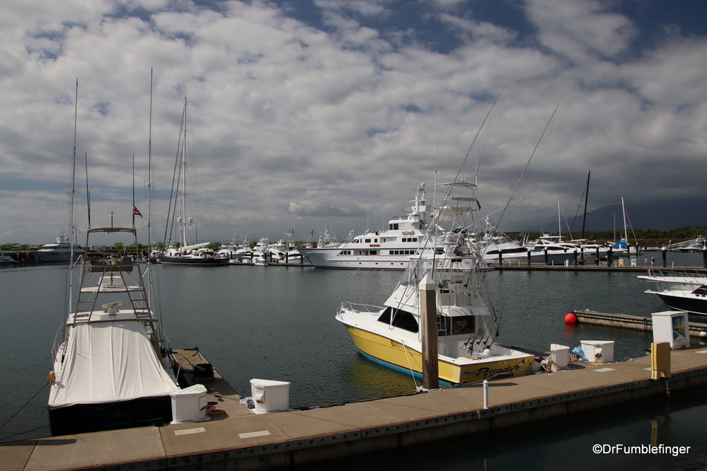 Marina in Quepos, Costa Rica