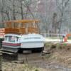 In Drydock, C&O Canal, Maryland