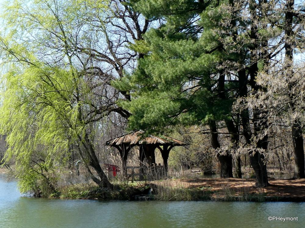 Rustic Retreat, Prospect Park Lake