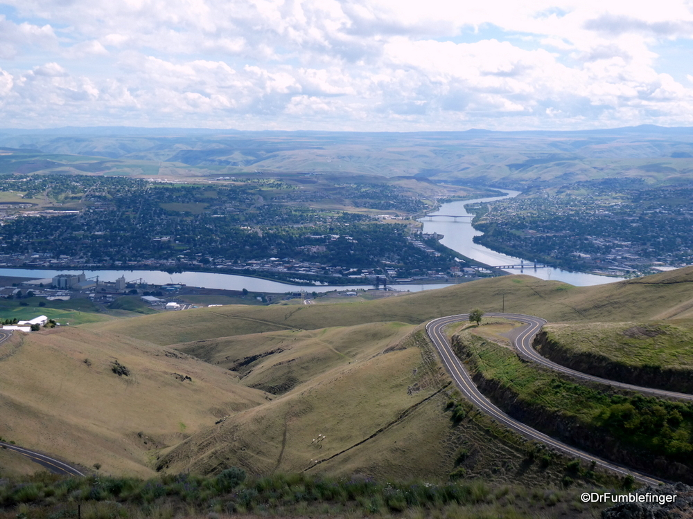 View of Lewiston and Clarkson from Lewiston Hill