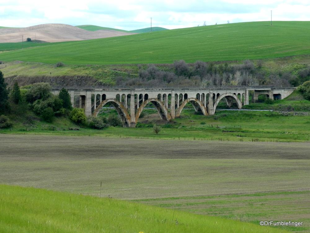 Old Bridge, the Palouse south of Spokane