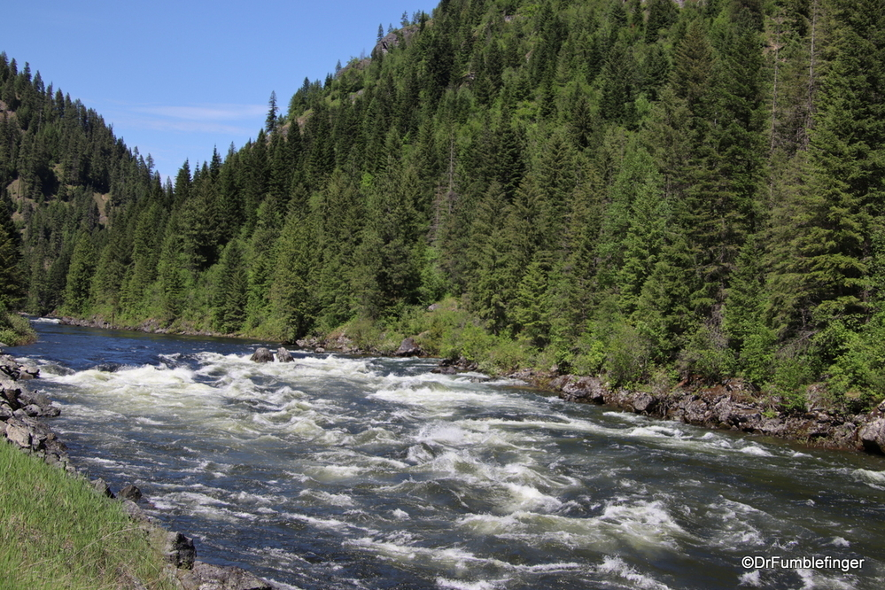 The Lochsa River, one of the finest whitewater rafting rivers in America