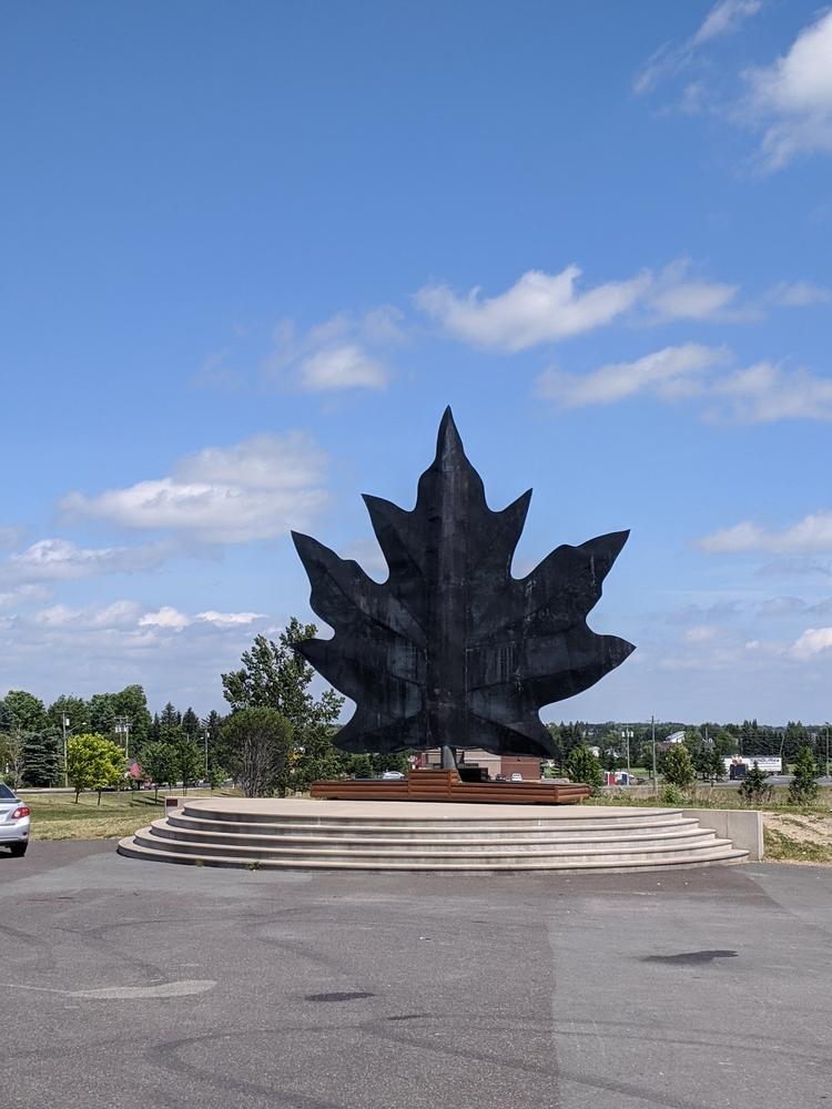 Copper Maple Leaf, Le Parc du Centenaire