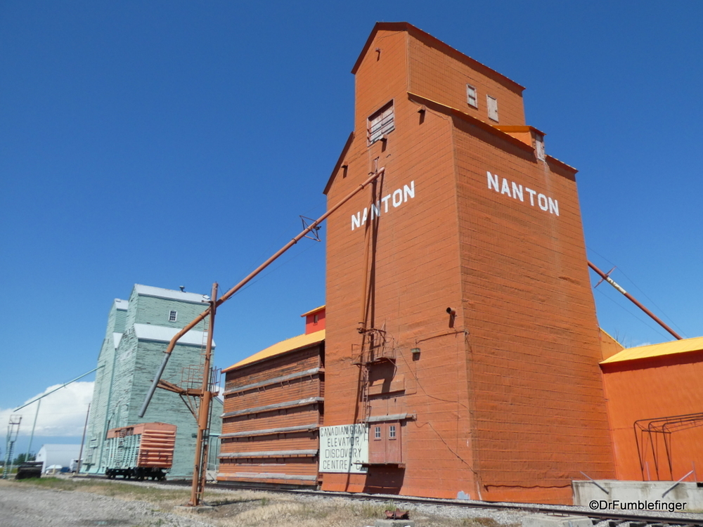 Probably the best preserved historic Grain Elevators on the prairies, Nanton