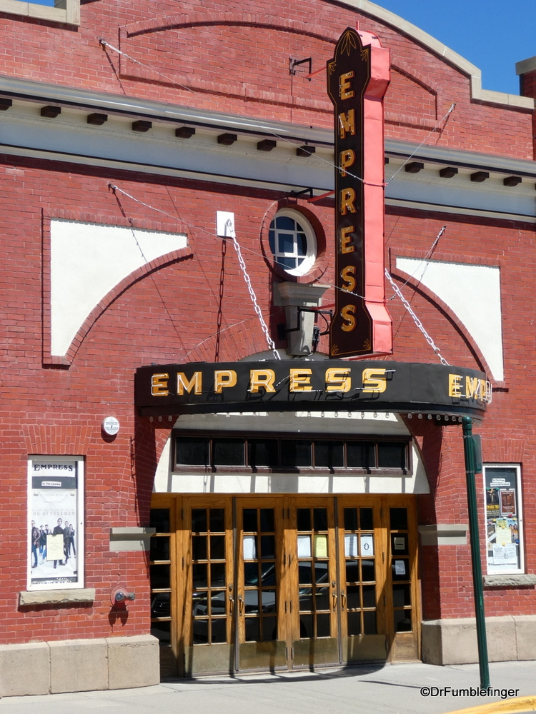Classic Empress Theater, Fort MacLeod