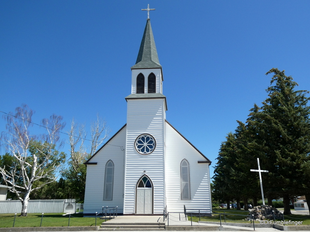 Holy Cross Roman Catholic Church, Fort MacLeod