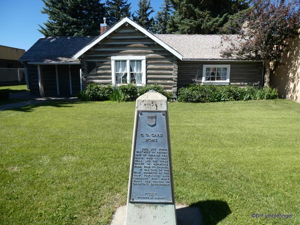 Card Pioneer Cabin, Cardston