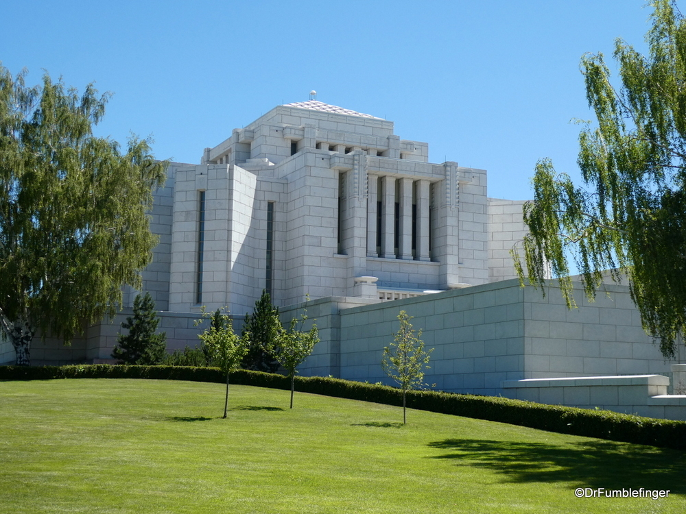 Cardston Mormon Temple