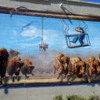 Interesting street art, Lethbridge