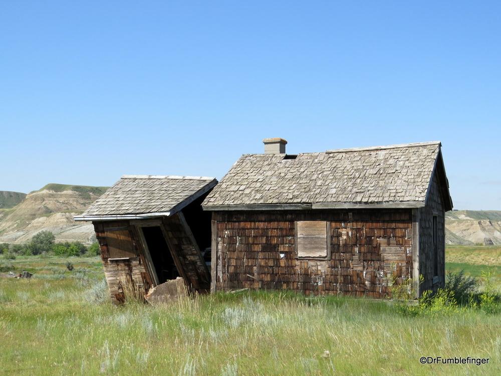 Abandoned farm house, Dorothy