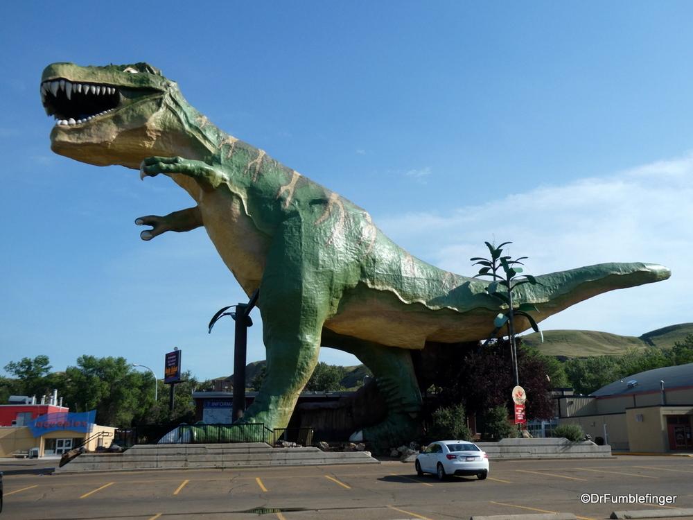 The World's Largest Dinosaur, Drumheller