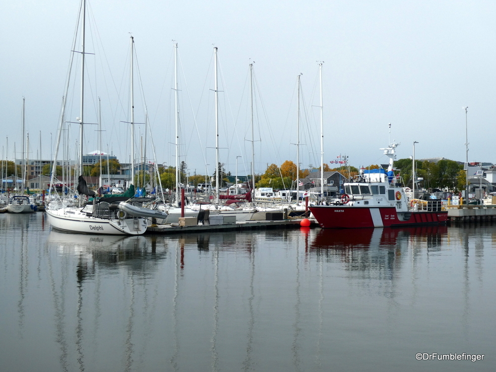 Gimli Harbor, Lake Winnipeg