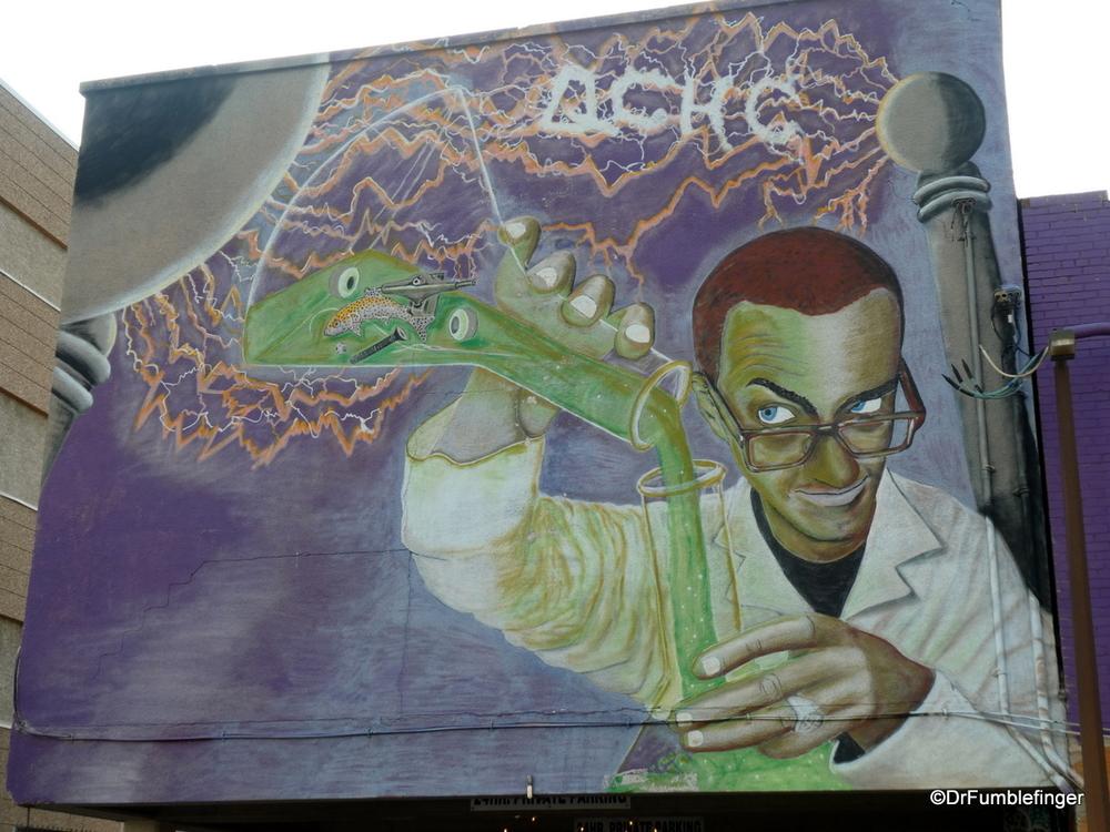 Creative street art, Regina