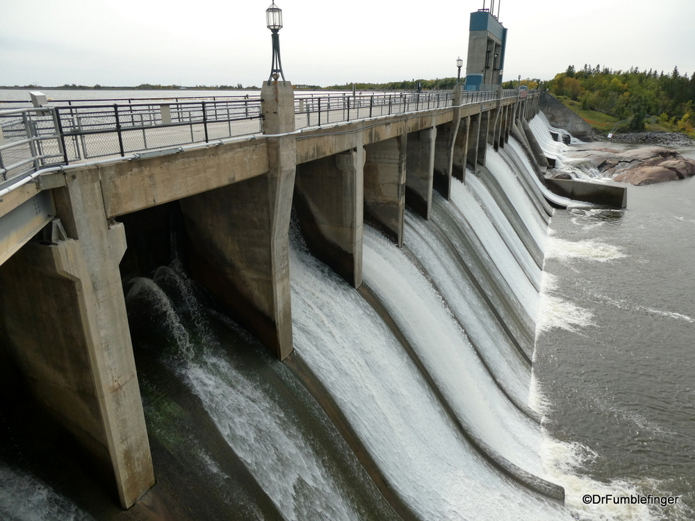 Seven Sisters Power Plant spillway