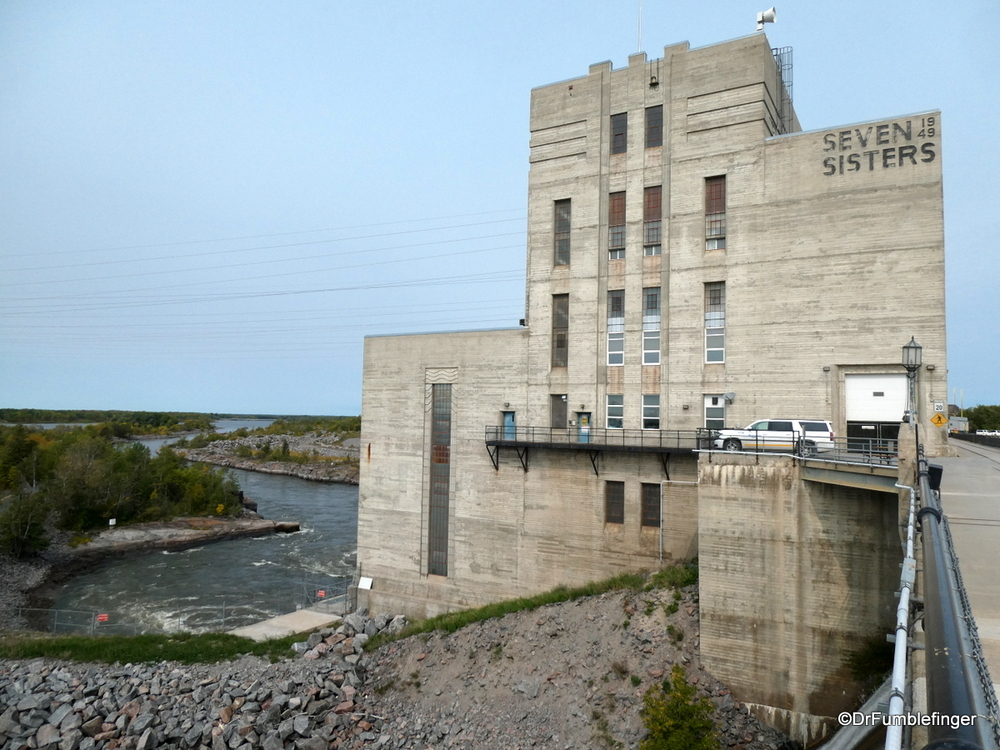 Seven Sisters Hydroelectric power plant, Manitoba