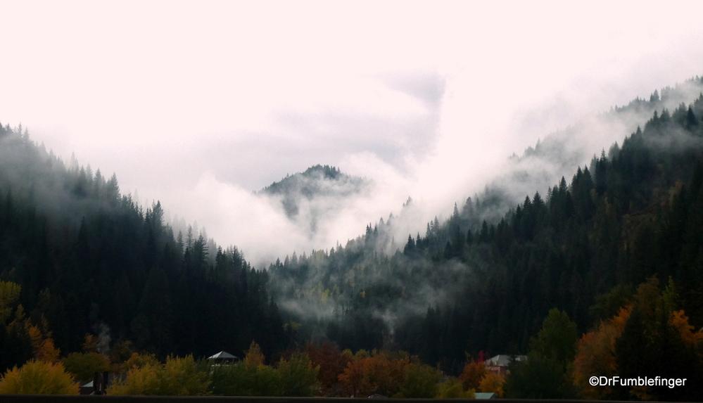 Approaching snowstorm, near Idaho/Montana border