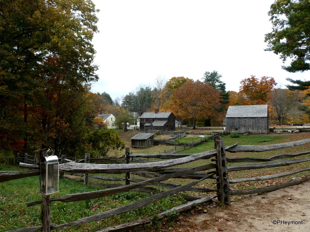New England in the 1830s