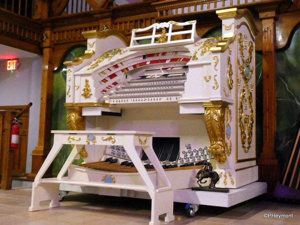 If Elvis had an organ...