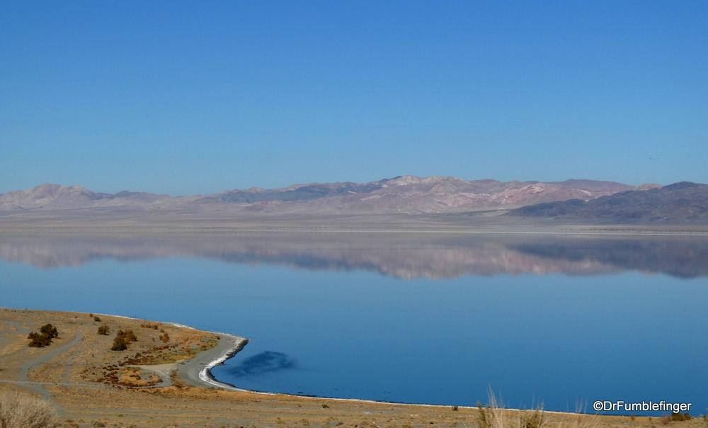 Reflections in Walker Lake, Nevada