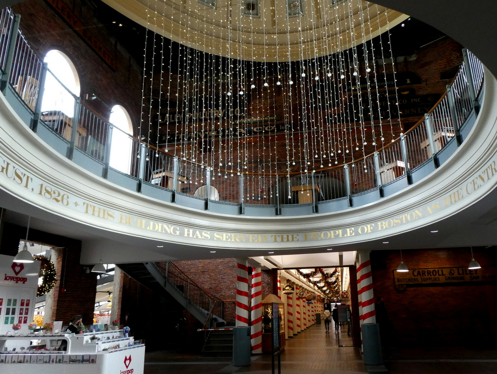 Quincy Market Rotunda, Boston