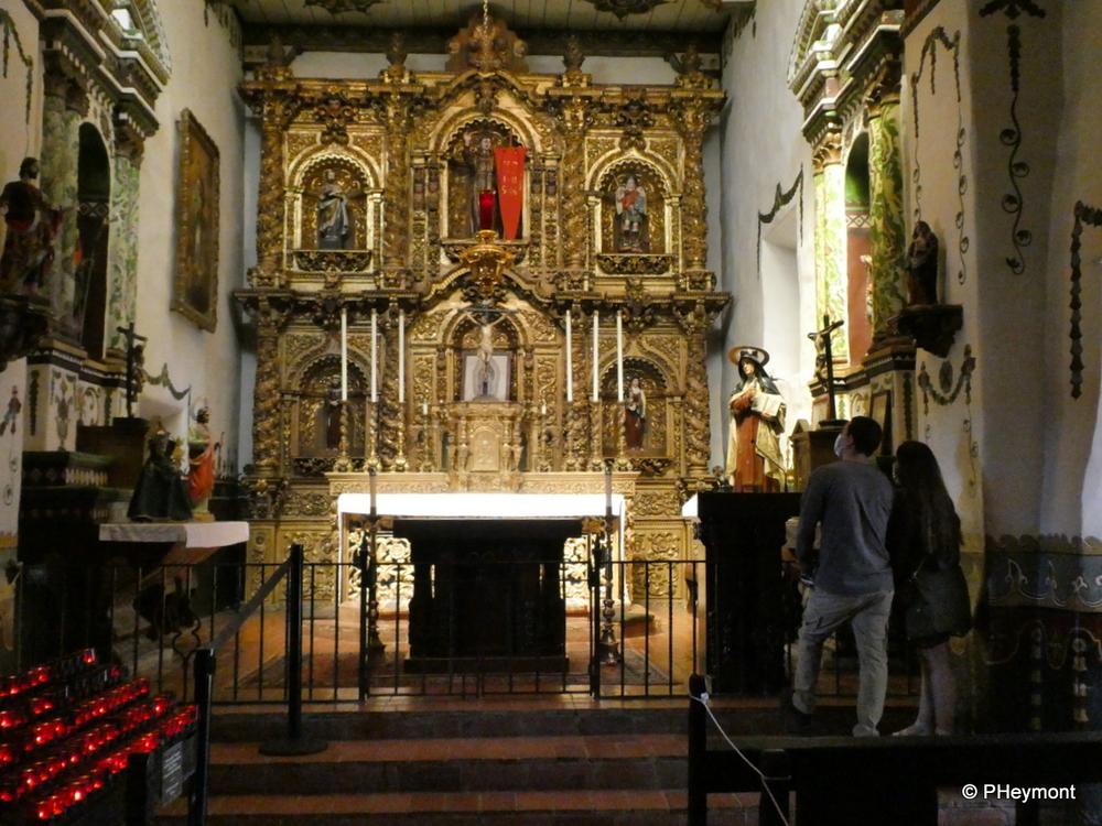 Chapel at Mission San Juan Capistrano