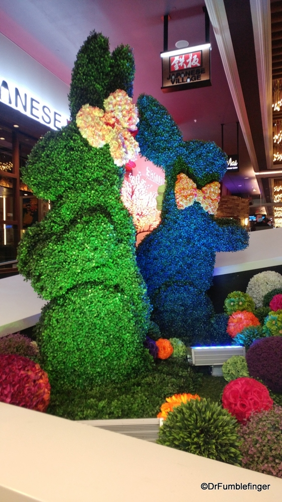 Easter decorations, West Edmonton Mall