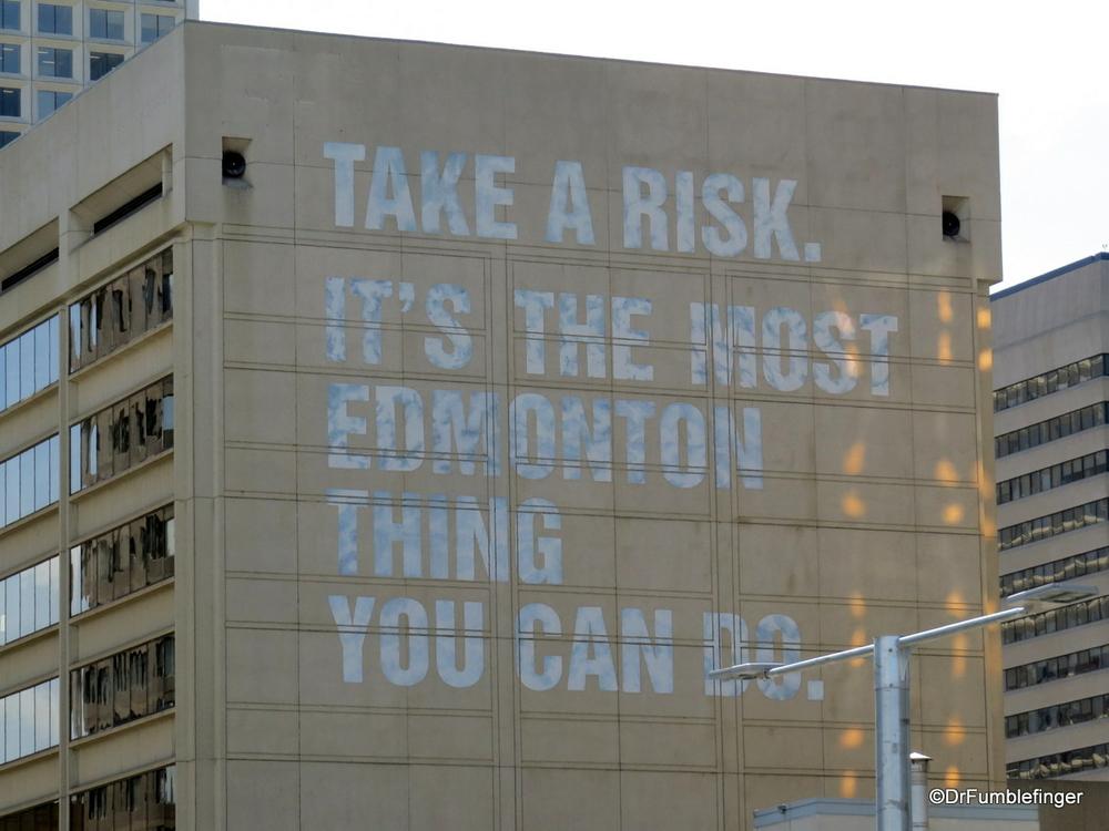 ? Edmonton's motto