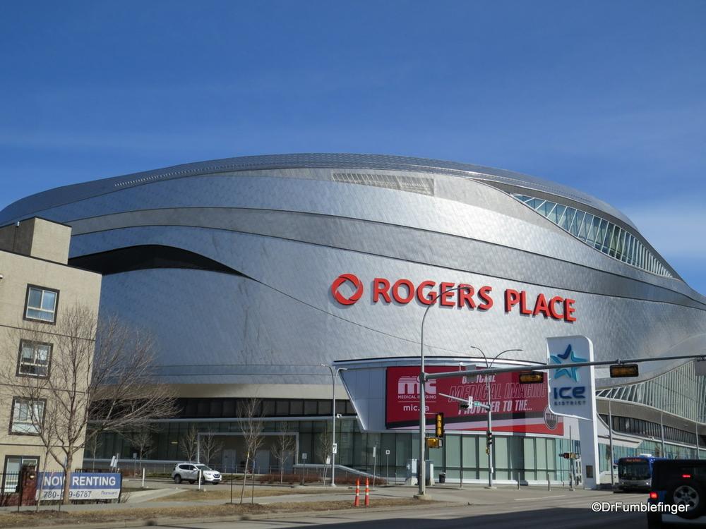 Rogers Place, Edmonton