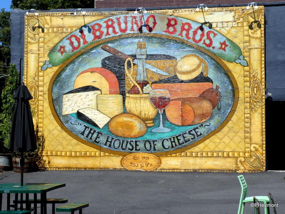 Cheese Wall at the Italian Market