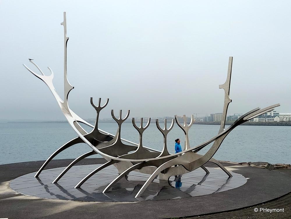 Viking Longboat, Reykjavik Harbor