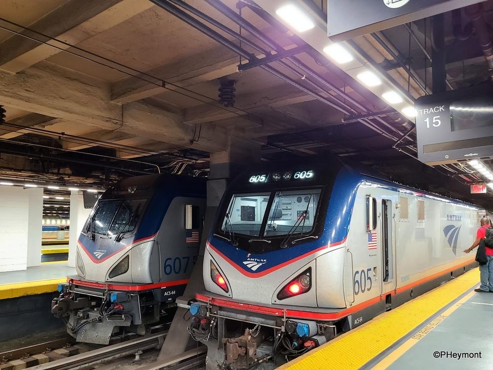 Twins, Penn Station, New York