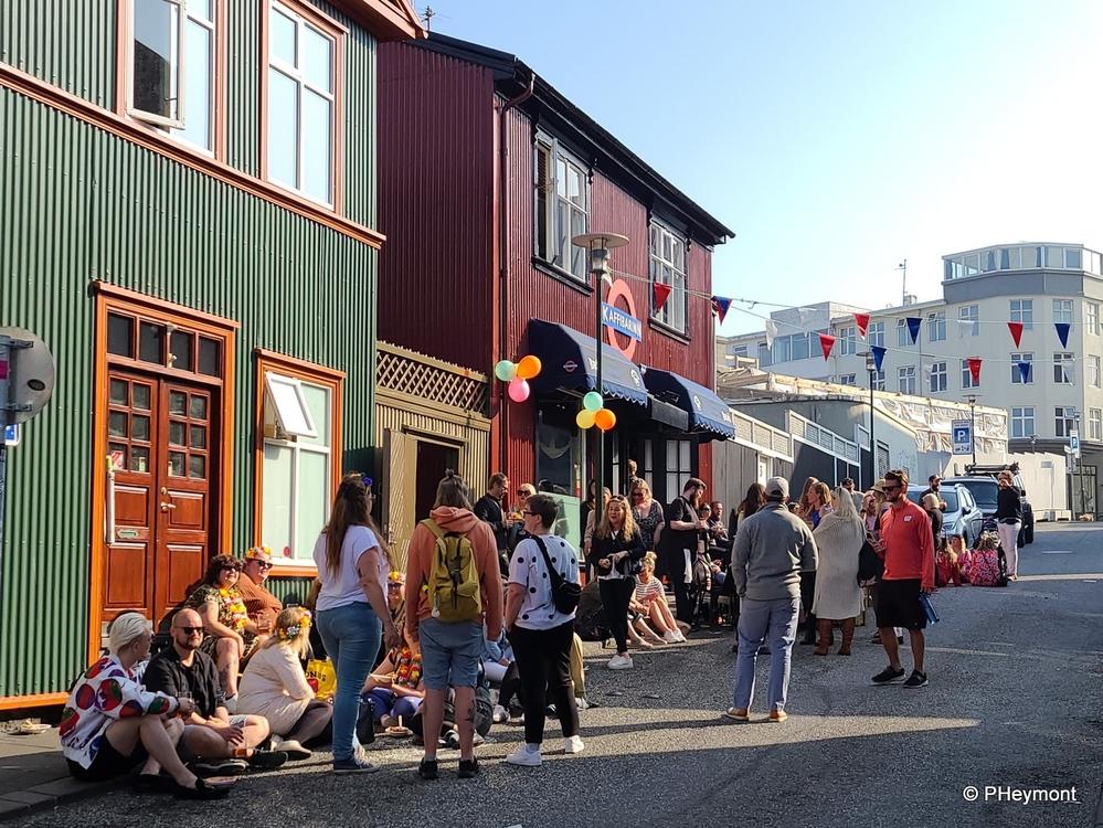 Saturday Afternoon in Reykjavik