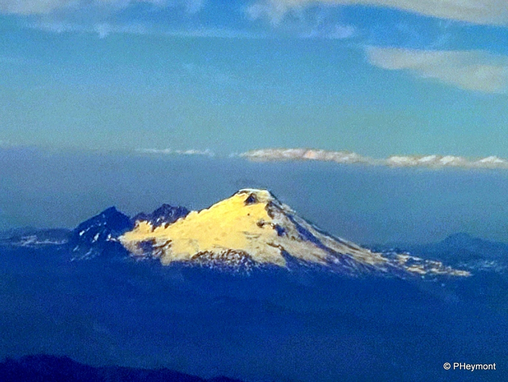 Mount Rainier, on Approach to Seattle