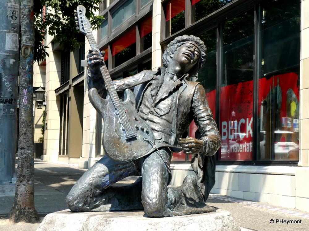 Jimi in the Street, Seattle