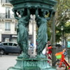 Drinking Fountain at Chateau Rouge, Paris