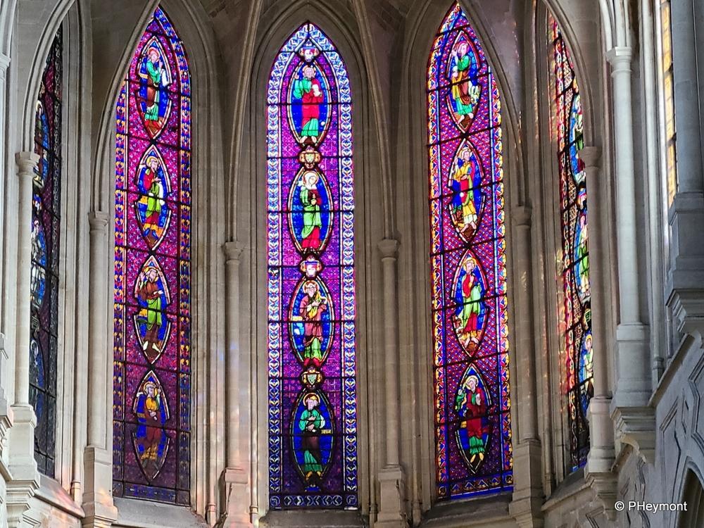 Glorious Purple at Saint-Germain-l'Auxerrois