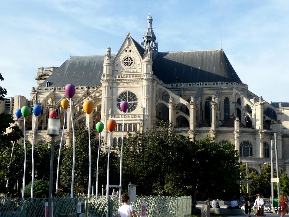 Saint-Eustache and Les Halles
