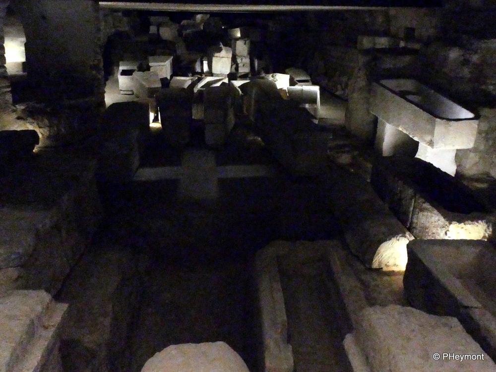 Ancient Crypt, Saint-Denis Basilica