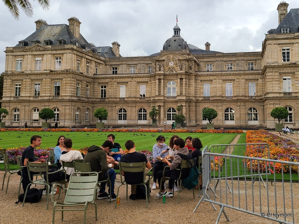 In the Luxembourg Gardens, Paris