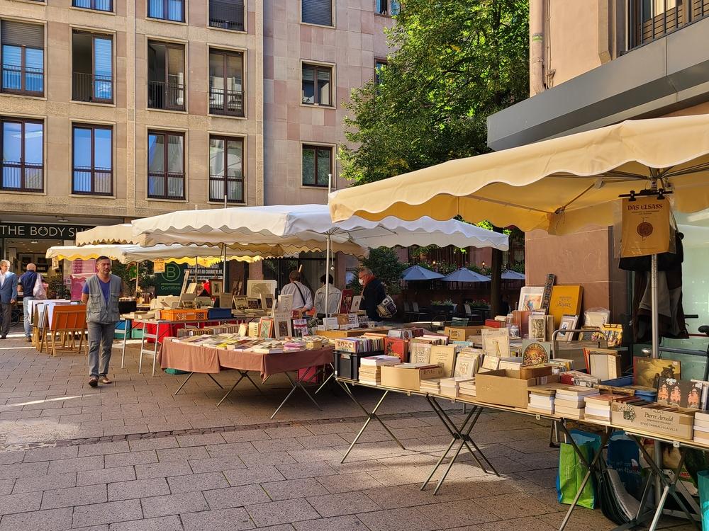 Book Market in Strasbourg