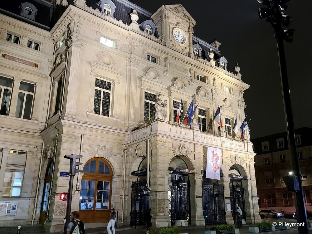 Town Hall, 18e Arondissemont, Paris